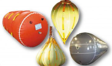 Pushing Balloons Water Bag for static load test Gas storage Bag