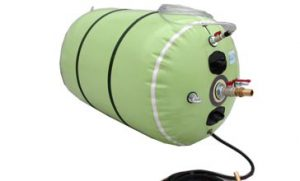 Pneumatic stopper is suitable to plug temporarily circular section
