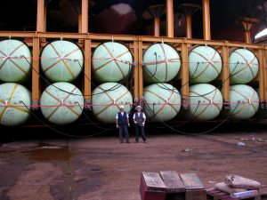 Floating Balloons Employed for cruiser and big ship