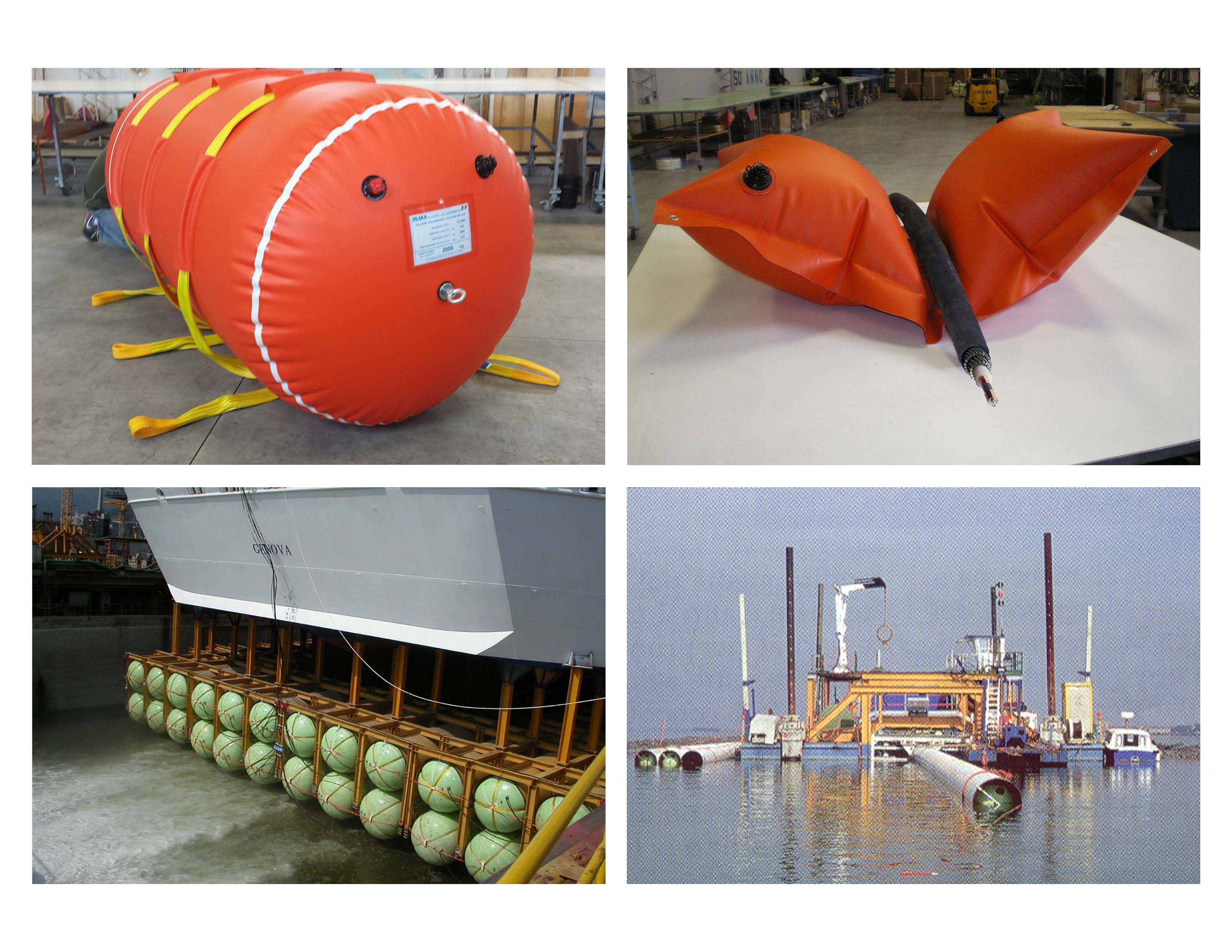 Lift bags Subsea & Naval